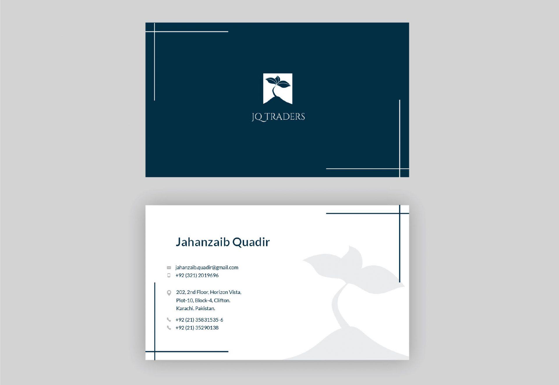 JQ Traders Branding Mockup