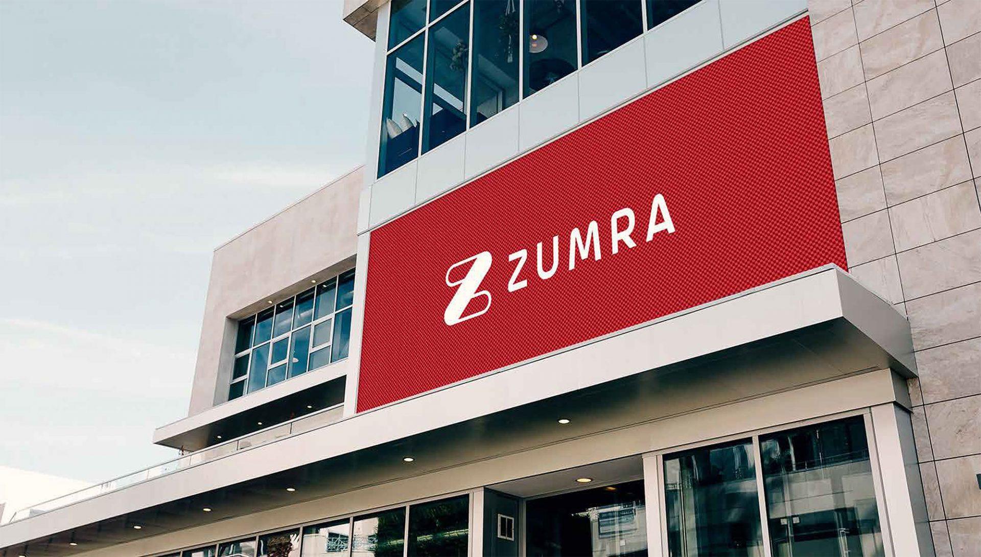 Zumra – Complete the Look! Branding Mockup